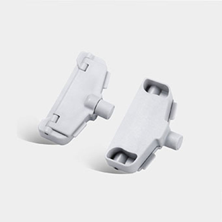 58khz EAS Hard Tag Milk Powder Plastic Clip For Anti - Theft Effect For Bags Closing