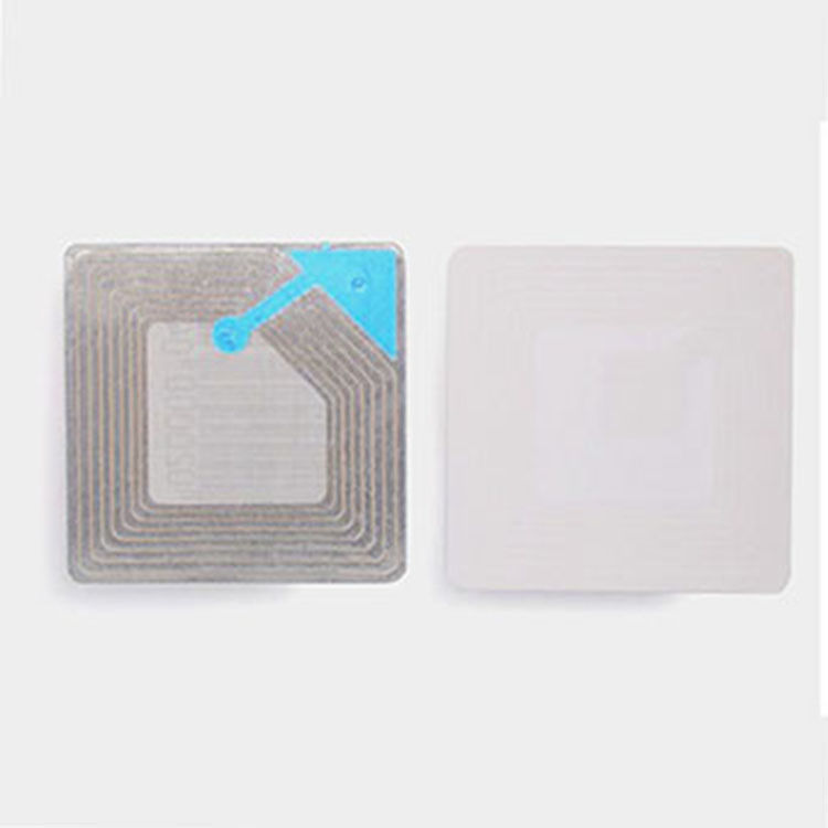Cosmetic Magnetic Printable EAS RF Label 4CM Barcode 8.2 MHz Soft Circular